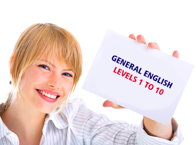 General English levels 1 to 10